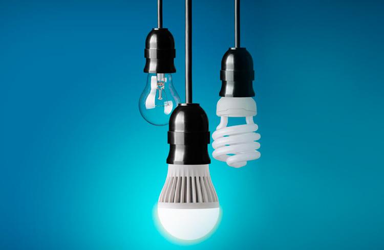 Lâmpada de LED é mais econômica do que a fluorescente ou incandescente?
